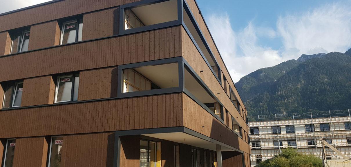 Bürs Krüzbühelweg Holzfassade